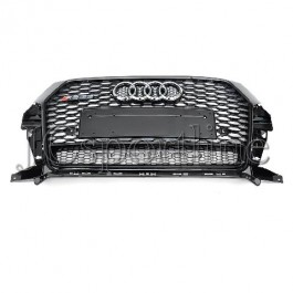 Решетка радиатора RSQ3 Quattro черная - Audi Q3 Facelift (8U)