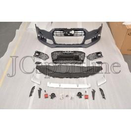 Передний бампер RS6 - Audi A6 (4G/C7) Facelift