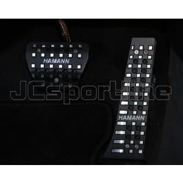 Накладки на педали Hamann Black Edition (АКПП) - BMW E60 / E61 / E63 / E64