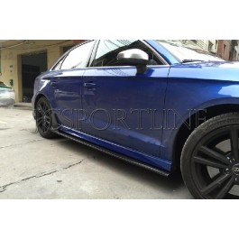 Пороги RDX карбон - Audi A3 S-line / S3 (8V)