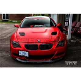 Сплиттер Vorsteiner карбон - BMW M6 E63 / E64