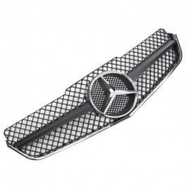 "Решетка радиатора в стиле E63 AMG ""Black Matte"" - Mercedes-Benz E (C207 / A207)"