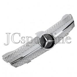 "Решетка радиатора MEC Design ""Silver"" - Mercedes-Benz CLS (C219)"