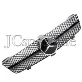 "Решетка радиатора MEC Design ""Full Black"" - Mercedes-Benz CLS (C219) Facelift"