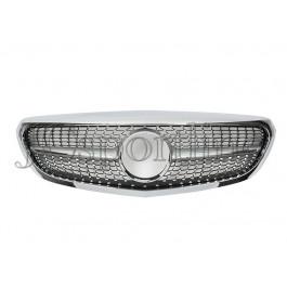 Решетка радиатора Diamond Style - Mercedes-Benz C (W205 / S205)