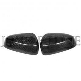 Накладки на боковые зеркала карбон - Infiniti FX35 / FX37 / FX50 / QX70