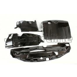 Крышка двигателя карбон - Lexus IS (XE20)