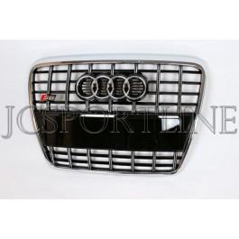 Решетка радиатора S 6 (черная) - Audi A6 (C6)