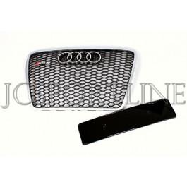 Решетка радиатора RS6 (Platinum Grey) - Audi A6 (C6)