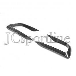 Накладки на облицовочные решетки Larte Design карбон - Maserati Levante