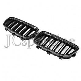 Решетка радиатора (ноздри) 1M Look карбон - BMW F20 / F21