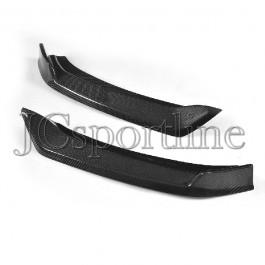 Сплиттер (клыки) Larte Design карбон - Maserati Levante