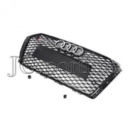 Решетка радиатора RS4 черная - Audi A4 / S4 (B9)