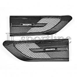 Воздухозаборники Brabus 650 в крылья карбон - Mercedes-Benz C (C205 / A205)