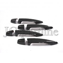 Накладки на дверные ручки карбон - BMW X1 (F48)