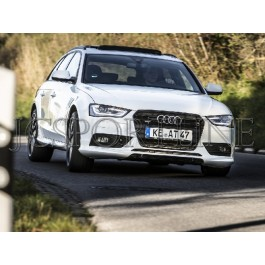 Накладка переднего бампера ABT AS4 - Audi A4 (B8) Facelift