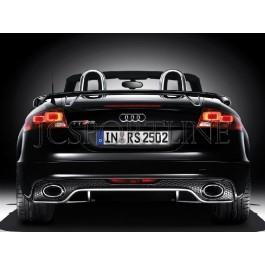 Диффузор TTRS - Audi TT S-line / TTS Facelift (8J)
