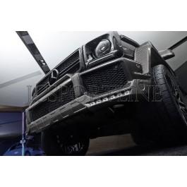Накладка на бампер Brabus карбон - Mercedes-Benz G (W463)