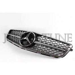 Решетка радиатора C63 AMG Facelift (Chrome) - Mercedes-Benz C (W204 / S204)