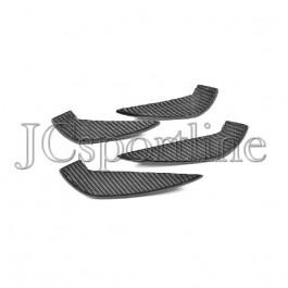 Закрылки (элерон) переднего бампера карбон - Mercedes-Benz CLA (C117 / X117) Facelift