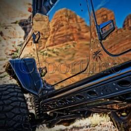 Подножки Poison Spyder - Jeep Wrangler Unlimited (JK)