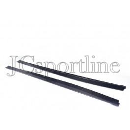 Пороги NewLine карбон - Infiniti Q50 (V37)
