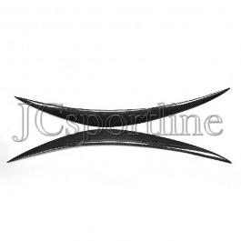 Реснички на фары карбон - Infiniti FX35 / FX37 / FX50 / QX70 (S51)