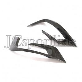 Реснички на облицовочные решетки Brabus карбон - Mercedes-Benz S63 / S65 AMG (W222 / V222)
