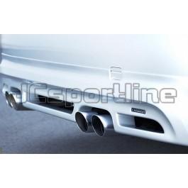 Накладка заднего бампера Hamann - BMW E90