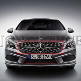 Решетка радиатора Diamond - Mercedes-Benz GLA (X156)