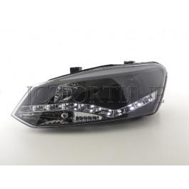 Передние фары черные FK Automotive - Polo 6R