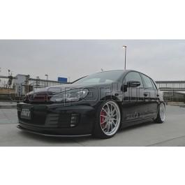 Сплиттер переднего бампера карбоновый - Golf 6 GTI
