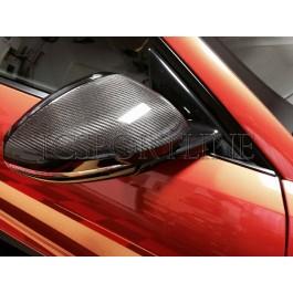 Накладки на боковые зеркала карбон - Jaguar F-Type