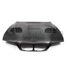 Капот GTR Design карбон - BMW E39