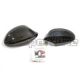 Накладки Performance на боковые зеркала карбон - BMW E90 / E91