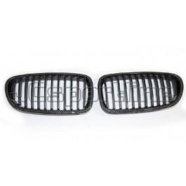 Решетка радиатора (ноздри) карбон - BMW F10 / F11