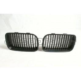 Решетка радиатора (ноздри) черные - BMW E36 дорестайл