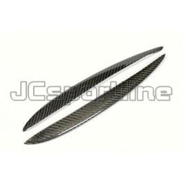 Накладки карбоновые решетки бампера - BMW F10