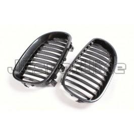 Решетка радиатора (ноздри) аквапринт - BMW E60 / E61