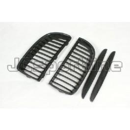 Решетка радиатора карбоновая - BMW E90 / E91