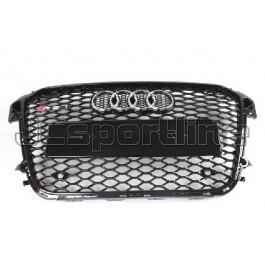 Решетка радиатора RS1 черная - Audi A1
