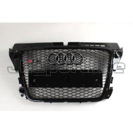 Решетка радиатора RS3 черная - Audi A3 (8P / 8PA)