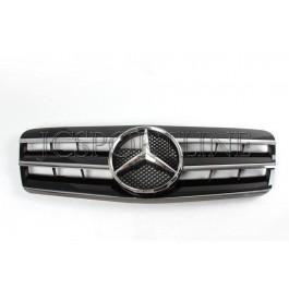 """Решетка радиатора со звездой """"Black"""" - Mercedes-Benz CLK (C208 / A208)"""