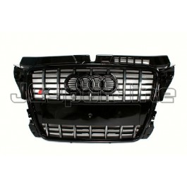 Решетка радиатора S3 черная - Audi A3