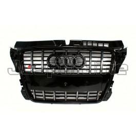 Решетка радиатора Audi S3 (Black) - Audi A3 / S3 (8P / 8PA)
