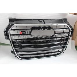Решетка радиатора S1 черная - Audi A1