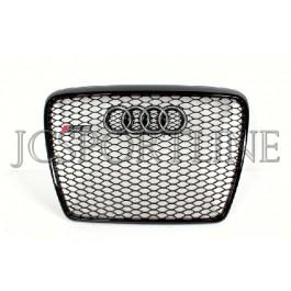 Решетка радиатора RS (черная) - Audi A6 (C6)