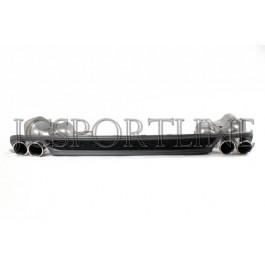 Диффузор и выхлопная система (глушитель) S6 - Audi A6 (4G/C7)