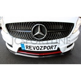 Сплиттер RevoZport A250 карбон - Mercedes Benz A-klasse AMG Package (W176)