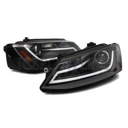 Передние фары черные Automotive - Jetta 6